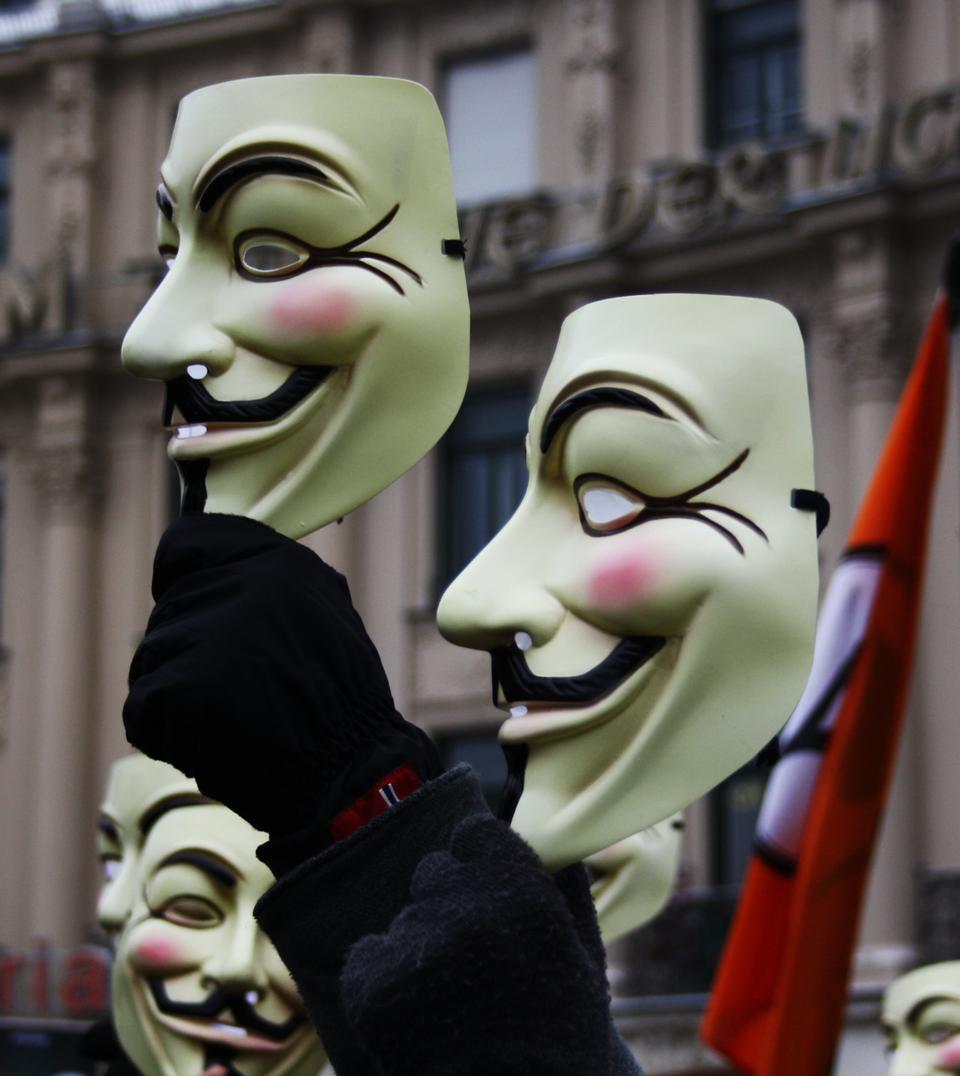Guy Fawkes Maske Schweiz