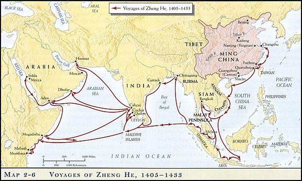 China's east asian tribute trade system