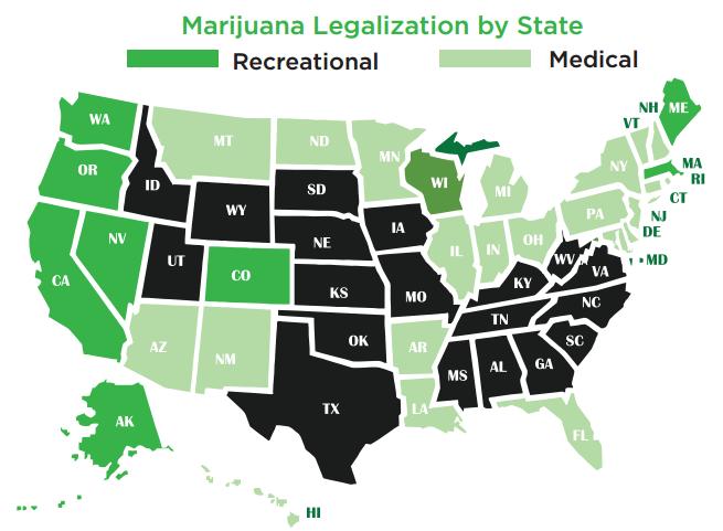 3 Indirect Plays In The Growing Marijuana Market