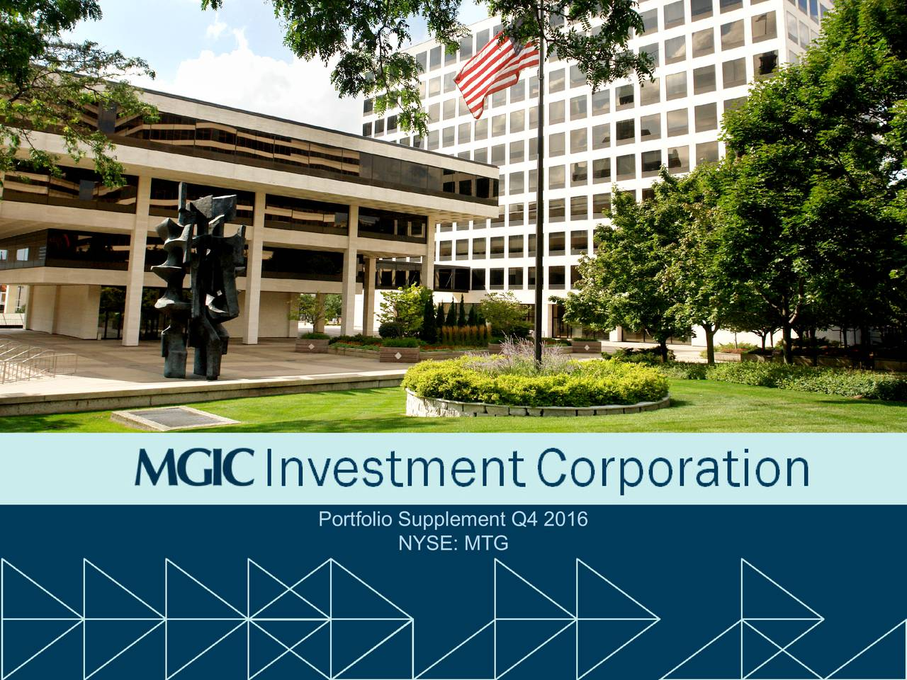 mgic investment corporation 2016 q4 results earnings