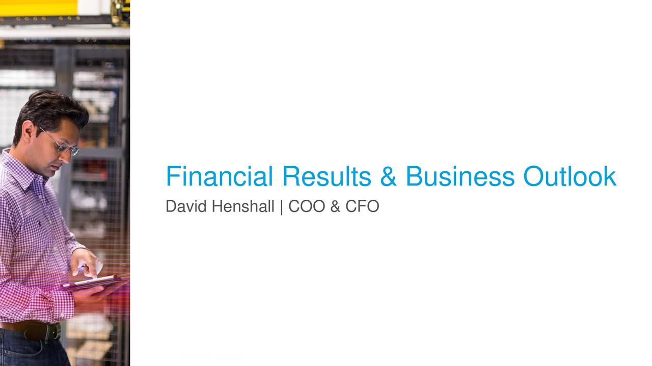 David Henshall | COO & CFO