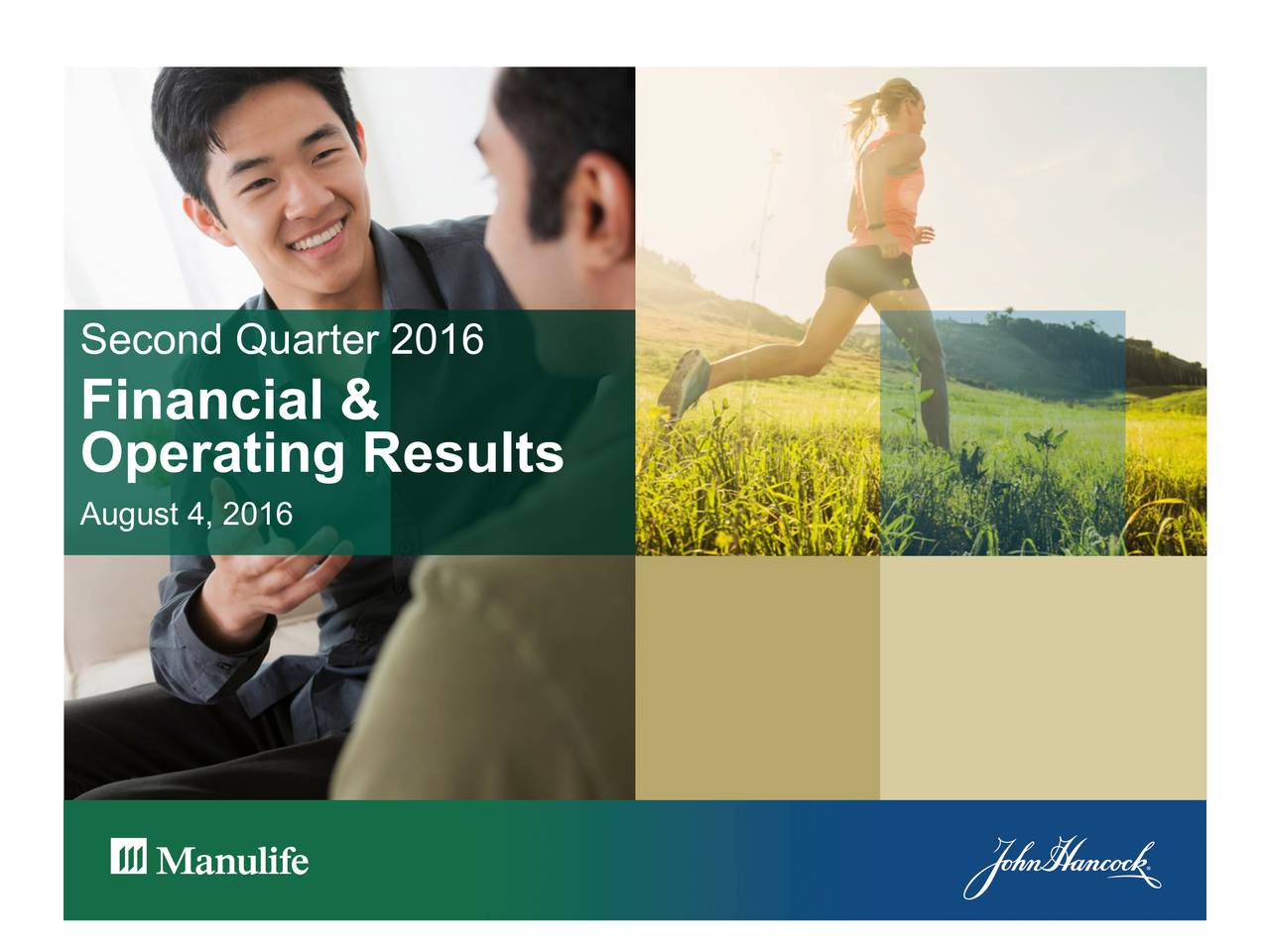 Financial & Operating Results August 4, 2016